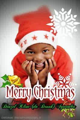 Klint (da Drunk) Igwemba & Family releases Christmas card