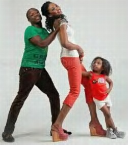 Julius Agwu And His Family's Christmas Card Pictures