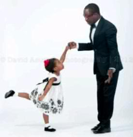 Julius Agwu And His Family's Christmas Card Picture