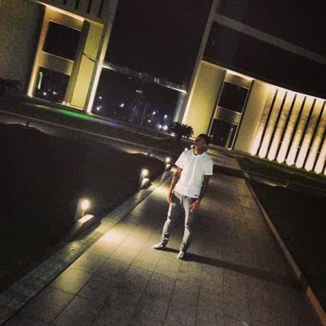 Chris Brown Wowed By His Lagos Mansion Lodge