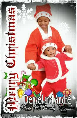 Klint (da Drunk) Igwemba Family releases Christmas card