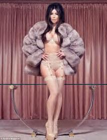 Kim Kardashian's most daring photo