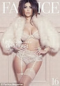 Kim Kardashian's most daring photo shoot