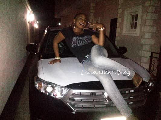 Actress Nuella Njubigbo acquires brand new 2011 Toyota Highlander SUV