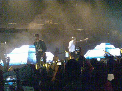 Pictures from the Chris Brown Concert in Lagos