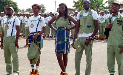 A touch of trad: Batch �C� corps members at Iyano-paja Orientation Camp