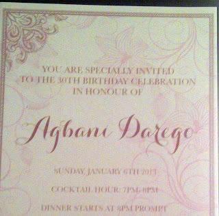 agbani invite