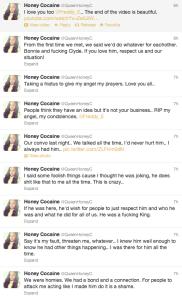 Honey Cocaine tweets